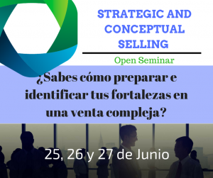 Strategic and Conceptual Selling